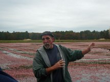 Glen, our guide and expert cranberry grower