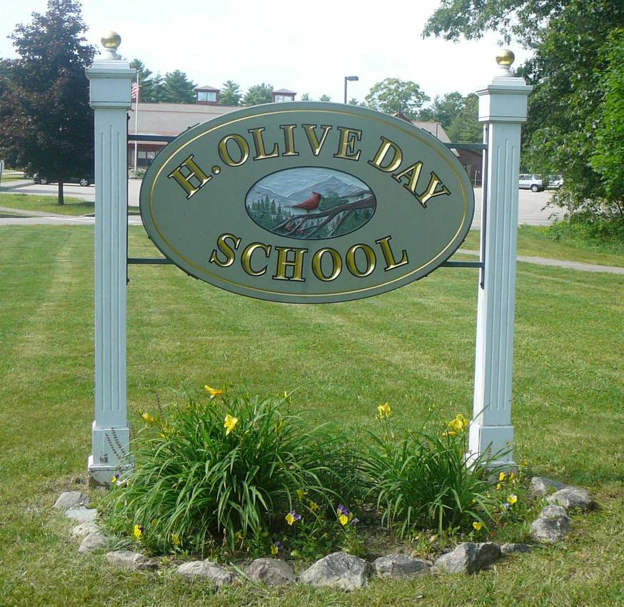 H. Olive Day School Sign