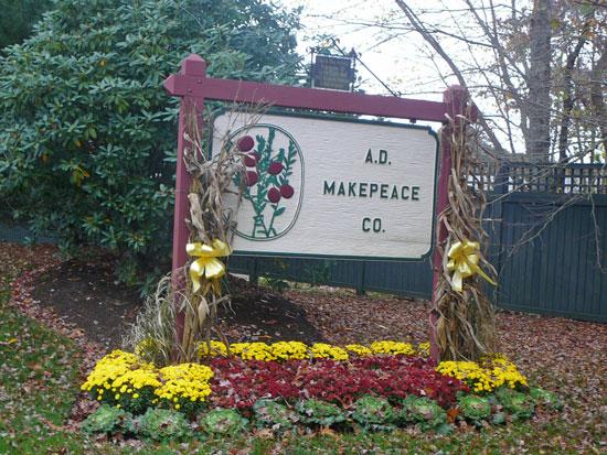 A.D. Makepeace Sign