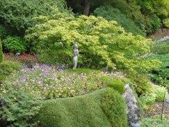 Statue in the Sunken Garden