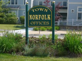 Norfolk Town Hall Sign