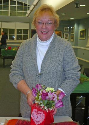 Our presenter, Gail