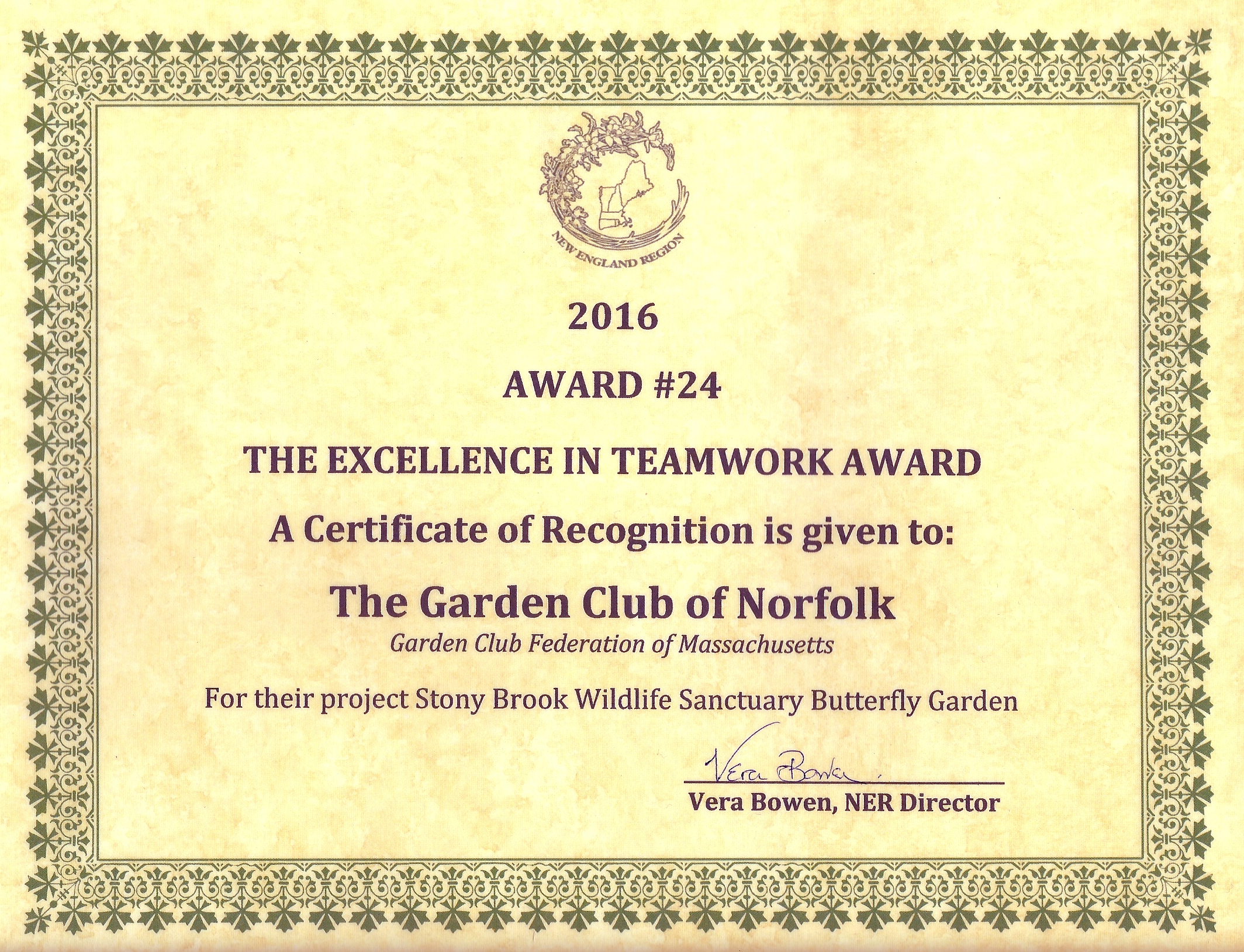 Garden Club Of Norfolk Awards And Grants The Garden Club Of