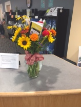"""""""Back to School"""" display by Leslie Lincoln"""