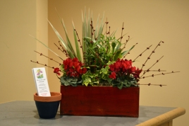 February display by Jan Conklin