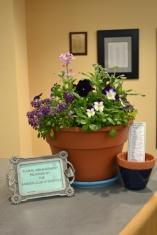April display by Susan Brindley