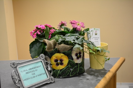 April Arrangement by Gail Tuveson