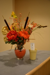 November Arrangement by Sally Eykel