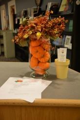 October Arrangement by Marge Morion-Boyle