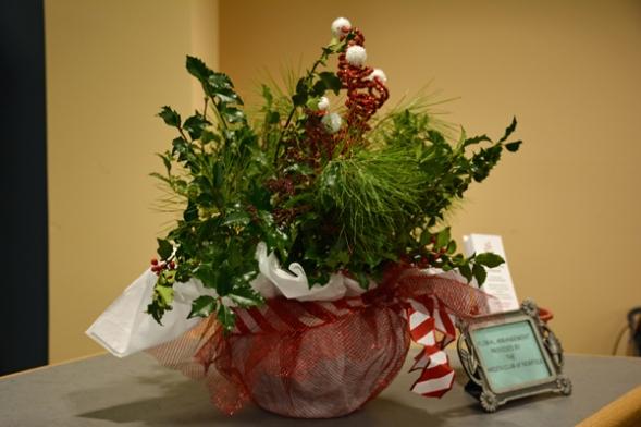 December Arrangement by Dot Chitty