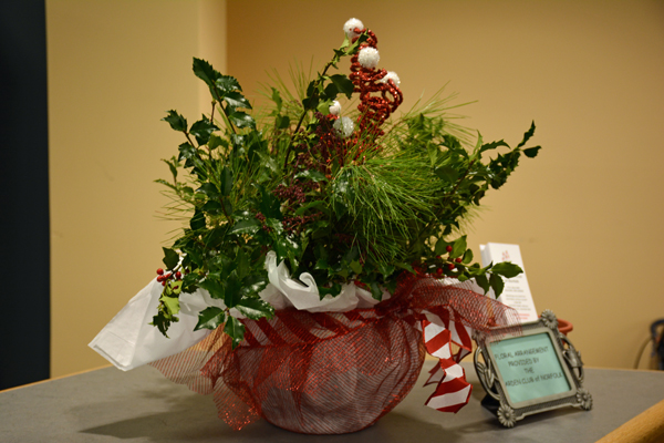 December Arrangement by Dot Chitty