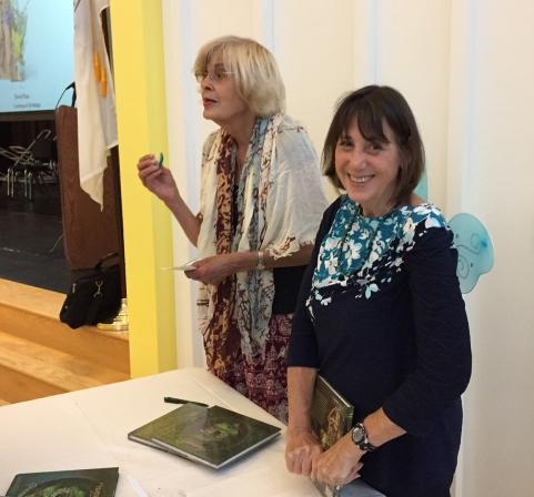 Ashley Rooney and Barbara Purchia