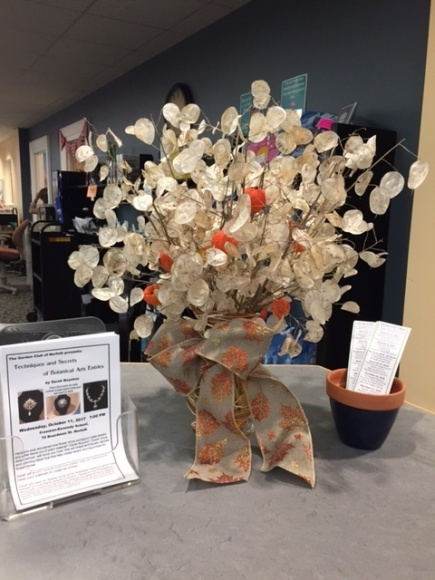 October display by Helena Drolette