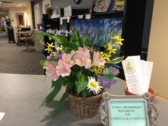 April display by Susan Schmidt