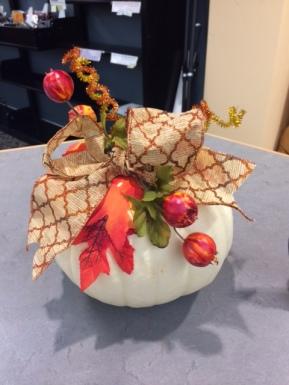 November display by Lyn and Sam Benton