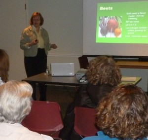 Take a class... winter is a terrific time to further your gardening education